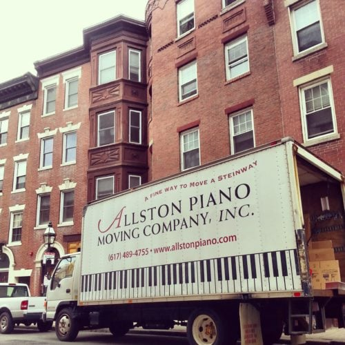 Giant Appreciation for Allston Piano and M. Steinert & Sons