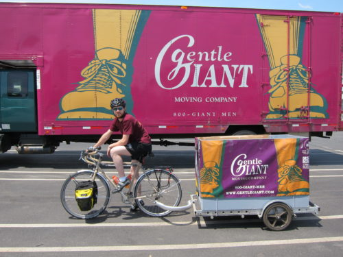 "Gentle Giant Truly is a ""Green"" Moving Company"