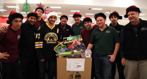 Boston Bruins Team Up with Gentle Giant for 2011 Toy Drive