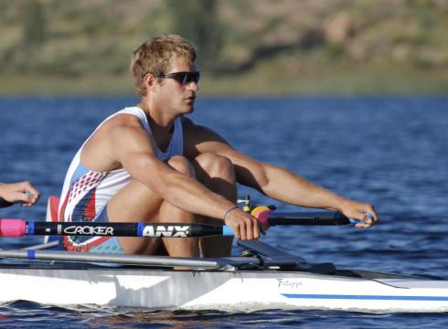 Former Giant Will Miller Becomes a 2012 Olympian