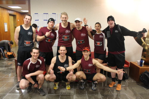 Gentle Giant Participates in 2014 Fight for Air Climb