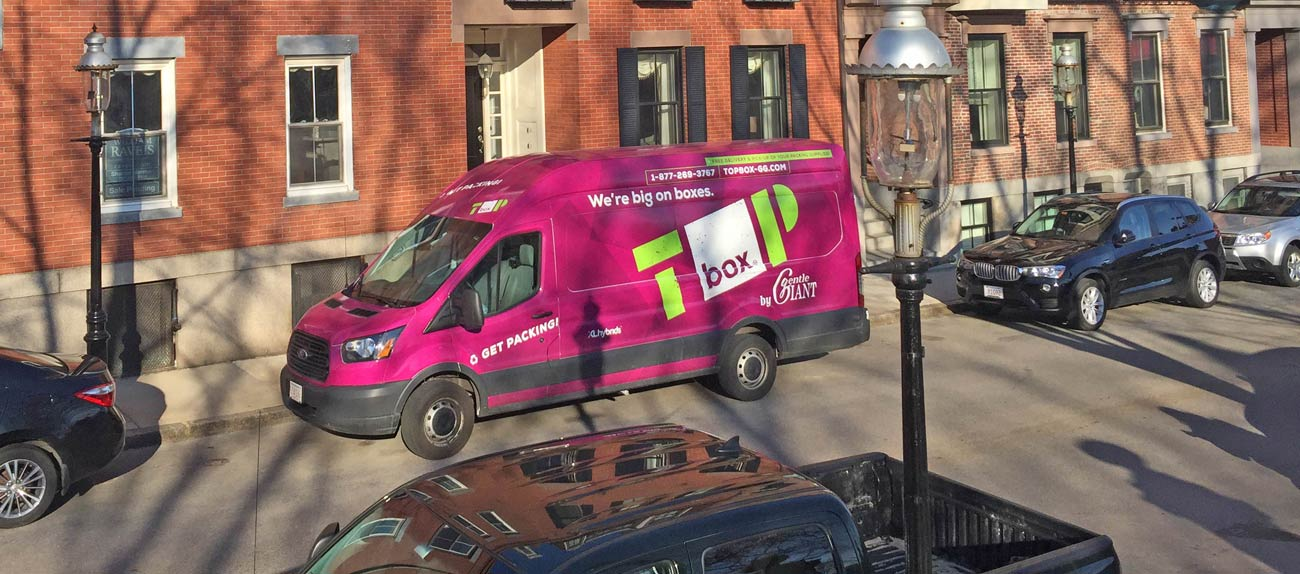 Top Box – Moving Box Delivery