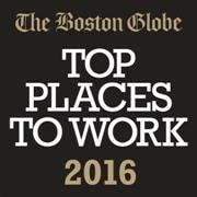 Boston Globe Top Places to Work Logo