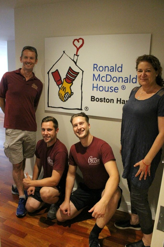 Gentle Giant Collaborates with Furnishing Hope & Ronald McDonald House