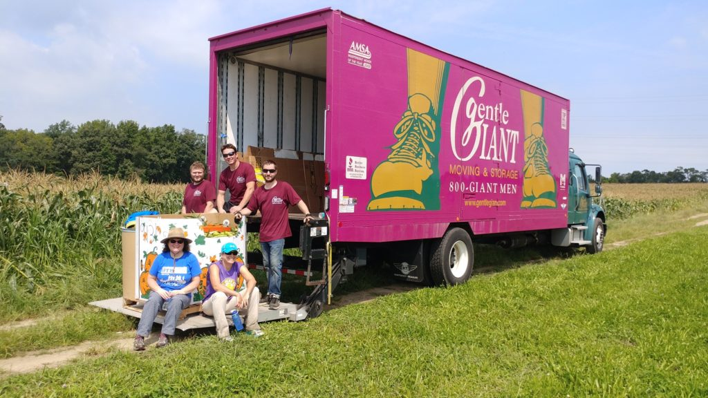 Gentle Giant Philadelphia Collaborates with Philabundance and Move for Hunger