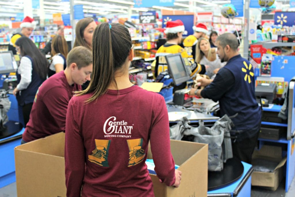 Gentle Giant Movers Sponsors 2017 Boston Bruins Holiday Toy Drive