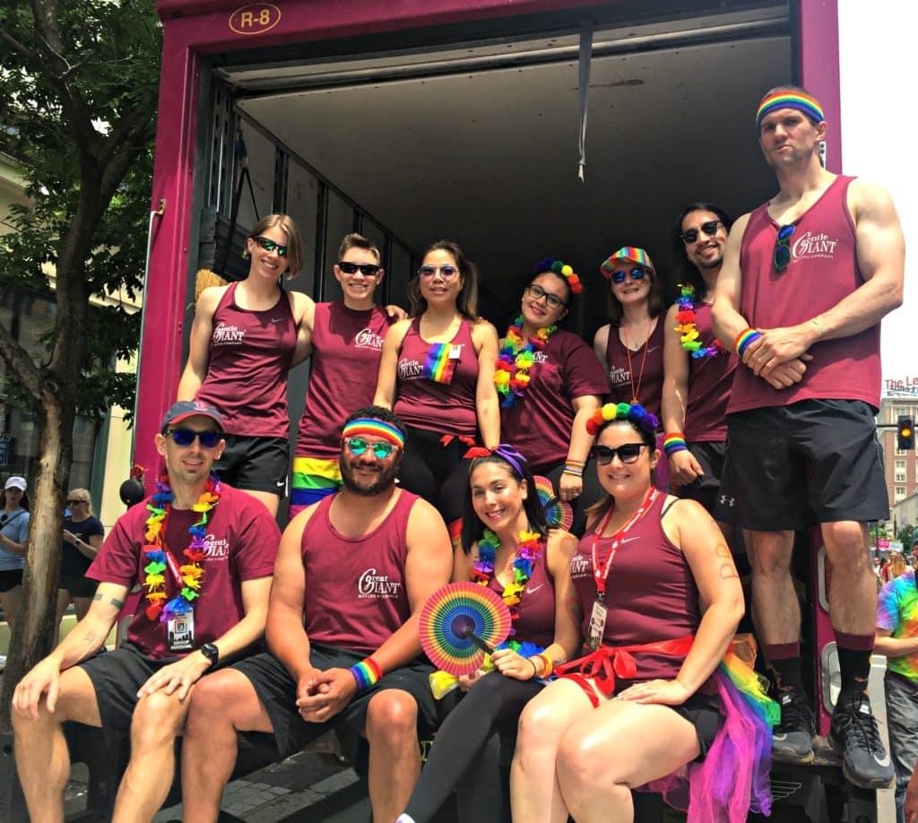 Gentle Giant Headquarters and Regions Participate in Pride 2018