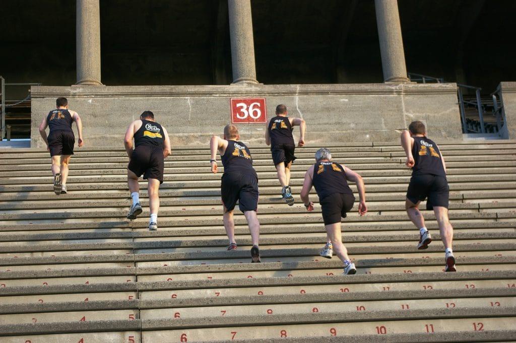 Gentle Giant Presents the 1st Annual Stadium Run World Championships
