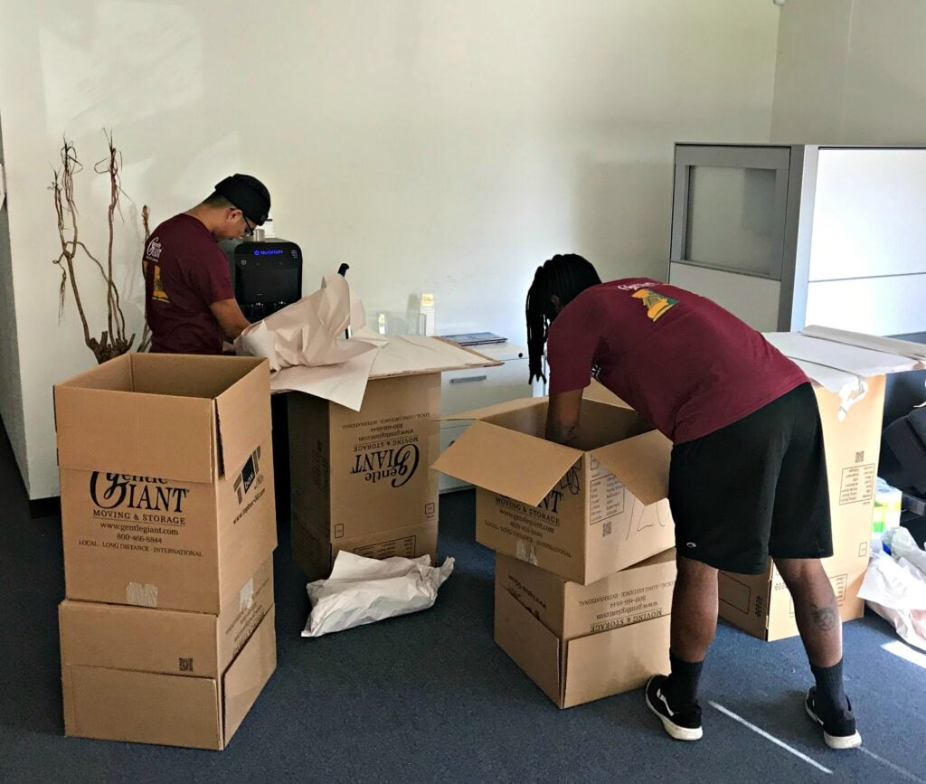 Will Moving Companies Pack for You?